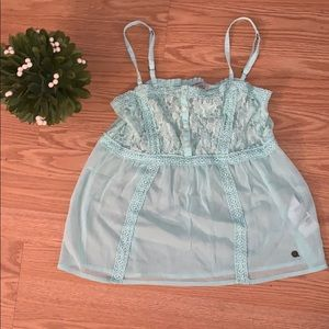 Abercrombie kids sheer lace cami